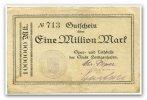 1 Million Mark o.J. Deutschland ~ Schleswig Holstein / Spar - und Leihk... 120,00 EUR108,00 EUR  +  7,00 EUR shipping