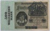 500 Mrd. Mark 1923 Deutsches Reich / Inflation ~ Reichsbanknote des Rei... 110,00 EUR  +  7,00 EUR shipping