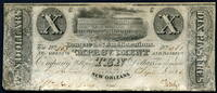 10 Dollars 1836 United States of America ~ USA / Banque des Amelioratio... 799,00 EUR700,00 EUR  +  17,00 EUR shipping