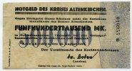 500.000 Mark 1923 Deutschland ~ Altenkirchen / Notgeld des Kreises ~   95,00 EUR85,50 EUR  +  7,00 EUR shipping