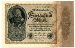 1.000 Mark 1922 Deutsches Reich / Inflation ~ Reichsbankdirektorium Ber... 60,00 EUR  +  7,00 EUR shipping