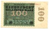 100 Millionen 1923 Deutsches Reich ~ Seltene Variante / Hakensterne, 8s... 180,00 EUR  +  7,00 EUR shipping