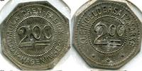 200 Pfennig o.J. Deutschland ~ Stadt Hagen / Accumulatoren Fabrik ~ ss  65,00 EUR55,00 EUR  +  7,00 EUR shipping