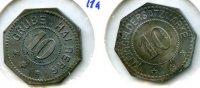 10 Pfennig o.J. Deutschland ~ Stadt Halberg / Grube Halberg ~ vz  65,00 EUR55,00 EUR  zzgl. 5,00 EUR Versand