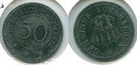 50 Pfennig o.J. Deutschland ~ Stadt Nordhalben ~ ss/vz  65,00 EUR  zzgl. 5,00 EUR Versand
