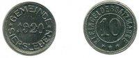 10 Pfennig 1920 Deutschland ~ Stadt Siersleben ~ vz  60,00 EUR  +  7,00 EUR shipping