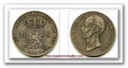 2 1/2 Gulden 1846 Niederlande ~ Nederlanden / William II. 1815 - 1849 ~... 70,00 EUR65,00 EUR  +  7,00 EUR shipping