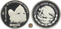 500 Pesos 1985 MEXIKO. 75 Jahre Mexikanische Revolution. PP  40,00 EUR  +  10,00 EUR shipping