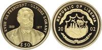 50 Dollars 2002 LIBERIA. Präsidenten der USA, Ulysses S. Grant (18., 18... 95,00 EUR  +  10,00 EUR shipping