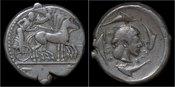 tetradrachm 485-466BC Sicily Sicily Syracuse AR tetradrachm EF