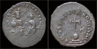 Byzantine hexagram 610-641AD VF Heraclius AR hexagram 199,00 EUR  zzgl. 8,00 EUR Versand
