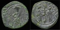 Byzantine follis 1059-1077AD VF Constantine X and Eudocia AE follis 59,00 EUR  zzgl. 8,00 EUR Versand