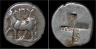 tetrobol 357-340BC Thrace Thrace Byzantion AR tetrobol EF  109,00 EUR kostenloser Versand