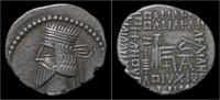 drachm 105-147AD Parthia Parthian Kingdom Vologases III AR drachm EF  69,00 EUR kostenloser Versand