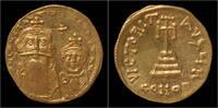 solidus 641-668AD Byzantine Constans II AV solidus EF  599,00 EUR  zzgl. 8,00 EUR Versand