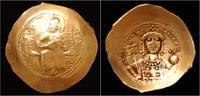 Byzantine histamenon nomisma 1042-1055AD VF+ Constantine IX AV histameno... 349,00 EUR  zzgl. 8,00 EUR Versand