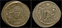solidus 527-565AD Byzantine Justinian I AV solidus VF+  399,00 EUR  zzgl. 8,00 EUR Versand