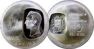 10 BOLIVAR 1973 VENEZUELA 100 JAHRE MÜNZPRÄGUNGEN MIT SIMON BOLIVAR VOR... 19,00 EUR