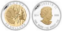 20 DOLLAR 2014 Kanada SEVEN SACRED TEACHINGS- WISDOM PP  84,00 EUR