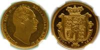 1831  GREAT BRITAIN: WILLIAM IV PROOF HALF-SOVEREIGN (NGC PF62 ULTRA C... 7400,00 EUR  zzgl. 8,00 EUR Versand