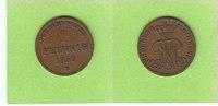 Oldenburg Birkenfeld 1 Pfennig 1859 sehr schön selten 60,00 EUR  zzgl. 3,50 EUR Versand