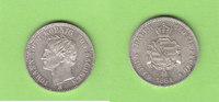 Sachsen 1/6 Taler 1864 fast st/vz-st toll erhalten 48,00 EUR  zzgl. 3,50 EUR Versand