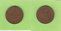 5 Pfennige 1872 Mecklenburg-Schwerin hübsch vz  12,50 EUR  zzgl. 1,50 EUR Versand