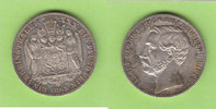 Vereinstaler 1865 Schaumburg-Lippe hübsch, selten vz-st/vz+, schöne Pat... 340,00 EUR  zzgl. 4,00 EUR Versand