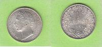 1/2 Gulden 1861 Württemberg Prachtstück fast Stempelglanz  135,00 EUR  zzgl. 3,50 EUR Versand