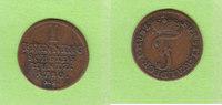 1 Pfenning 1780 Waldeck  sehr schön  14,50 EUR  zzgl. 1,50 EUR Versand