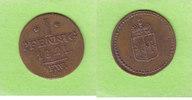1 Pfennig 1821 Waldeck und Pyrmont  gutes sehr schön  18,00 EUR  zzgl. 1,50 EUR Versand
