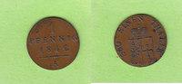 1 Pfennig 1842 Waldeck und Pyrmont hübsch vz/fast vz  14,50 EUR  zzgl. 1,50 EUR Versand