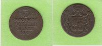 3 Pfennige 1825 Waldeck und Pyrmont seltener sehr schön  18,50 EUR  zzgl. 1,50 EUR Versand