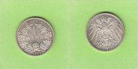 1 Mark 1905 A Kaiserreich Prachtexemplar Stempelglanz  19,00 EUR  plus 2,00 EUR verzending
