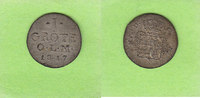 1 Grote 1817 Oldenburg toll erhalten, selten in dieser Qualität vz-st  75,00 EUR  zzgl. 3,50 EUR Versand