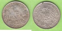 1/2 Mark 1911 J Kaiserreich sehr hübsch, seltener Jahrgang vz-st, winzi... 37,50 EUR  zzgl. 3,50 EUR Versand