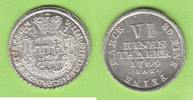 1/6 Taler 1769 Paderborn Prachtstück Stempelglanz  198,00 EUR  zzgl. 3,50 EUR Versand