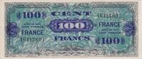 100 Francs 1945 France Impr. américaine (France) - 1945 Série 9 vz+  185,00 EUR kostenloser Versand