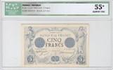 5 Francs 1874 France Noir - Janv 1874 vz  2200,00 EUR