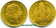 8 Florin 1892  Österreich - 8 Florin - 1892 Stg  317,00 EUR  + 17,00 EUR frais d'envoi