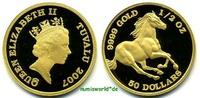 50 Dollars 2007 Tuvalu Tuvalu - 50 Dollars - 2007 PP  771,00 EUR  +  17,00 EUR shipping