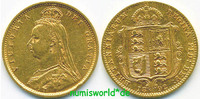 1/2 Sovereign 1892 Großbritannien Großbritannien - 1/2 Sovereign - 1892... 198,00 EUR  +  17,00 EUR shipping