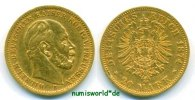 20 Mark 1874 ss+ Preussen - 20 Mark - 1874 567.28 US$