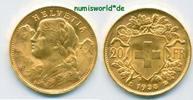 20 Franken 1935 Schweiz Schweiz - 20 Franken - 1935 Stg  276,00 EUR  zzgl. 6,00 EUR Versand
