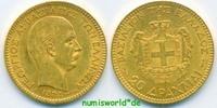 20 Drachmen 1884 Griechenland Griechenland - 20 Drachmen - 1884 vz  373,00 EUR