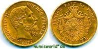20 Franken 1877 Belgien Belgien - 20 Franken - 1877 vz/Stg  318.85 US$ 290,00 EUR  +  35.18 US$ shipping