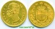 20 Lire 1881 Italien Italien - 20 Lire - 1881 f. Stg  351,00 EUR  zzgl. 6,00 EUR Versand