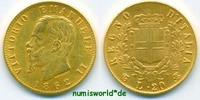20 Lire 1862 Italien Italien - 20 Lire - 1862 vz/Stg  285,00 EUR  +  17,00 EUR shipping