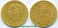20 Lire 1863 Italien Italien - 20 Lire - 1863 ss  /  vz  262,00 EUR  +  17,00 EUR shipping