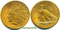 10 Dollars 1910 USA USA - 10 Dollars - 1910 vz-  804,00 EUR  + 17,00 EUR frais d'envoi